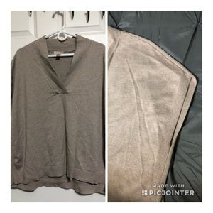 Sleeveless sweater/vest